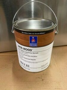 Sherwin Williams Sher-Wood Water White Conversion Varnish V84F83