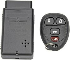 Keyless Entry Remote Key Fob Black with Programmer Dorman 13732