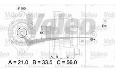 VALEO Alternador Para OPEL ASTRA ZAFIRA MERIVA COMBO VAUXHALL ASTRAVAN 437414