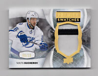 2015-16 Upper Deck Premier Swatches Nikita Kucherov Patch 09/15 Lightning