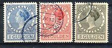 Nederland  163 - 165 B gebruikt (2)
