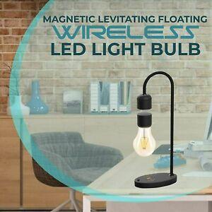 Phone Wireless Charging Table Lamp Magnetic Levitating Light Floating Bulb Lamp