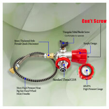 Scuba Paintball Tank Carbon Fiber Cylinder Valve&Hose Air Filling Station Valve