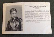 CPA. Le DUC de REICHSTADT. 96. Histoire de la  Belgique et Pays Bas.