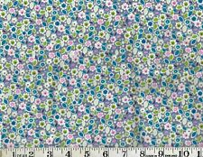 SMALL ALL OVER FLORAL, 100% Cotton Flannel, 1/2 yard; by R.E.D. International