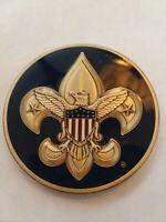 BSA Boy Scouts of America Fleur-de-Lis with Shield Engravable Challenge Coin