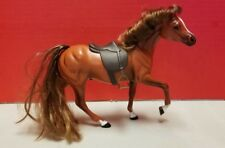 Marchon Horse Figure 1988 Grand Champion GC Brown with Saddle White Stripe Face
