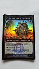 1x KORLASH, HEIR TO BLACKBLADE - FUTURE SIGHT - MTG - Magic the Gathering - NM