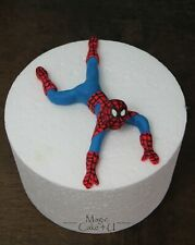 Unofficial Hulk Captain America  Batman In The Style Of Spiderman Cake Topper