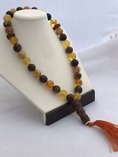 Baltic amber 33 Islamic prayer beads 12mm rosary Misbaha Muslim rosary A197X