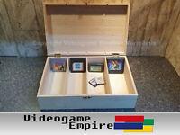 1x Holzbox Modul Aufbewahrung Nintendo Game Boy / Color Advance Game Gear Module