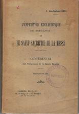 LEMIUS - L'APPARITION EUCHARISTIQUE DE BORDEAUX - LIVRE ANCIEN RARE