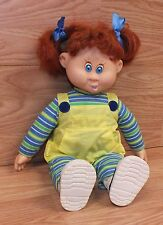 Play By Play Talkin' Tots 1998 Battery Operated Red Hair Girl Doll Only *Read*
