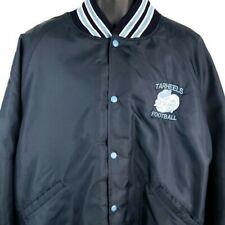 North Carolina Tar Heels Bomber Jacket Vintage 80s Football Made In USA Size 3XL