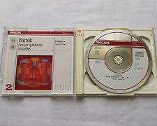 NOVAK QUARTET / BARTOK The six string quartets GERMANY 2CD DGG 442 284-2 (1994)