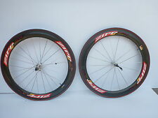 ZIPP 404 Tubular Carbon Wheelset w/ Tires