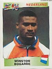 N°080 WINSTON BOGARDE NEDERLAND NETHERLANDS PANINI EURO 1996 STICKER 96