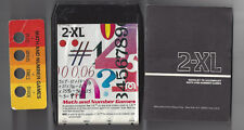 Mego 1970'S 2Xl Talking Robot 8 Track Tape Math And Number Games Booklet & Card