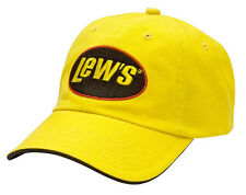 Lew's Lews Yellow Universal Cap Hat New