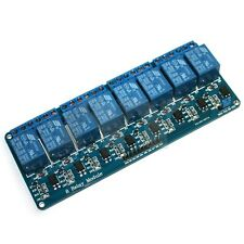 8-Channel 12V Relay Shield Module for Arduino AVR PIC DSP ARM MSP430 TTL logic