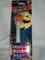 PEZ Dispenser Halloween Glow in Dark Pumpkin Jack-O-Lantern Collectible Footed