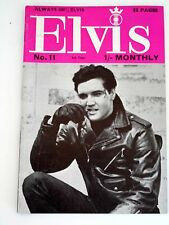 ELVIS Monthly Magazine  Fifth Series No 11, Nov. 1964 from the United Kingdom