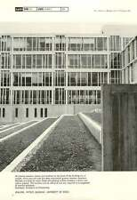1967 Walling, Physics Building, University Of Essex Architects Co-Partnership