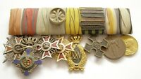 y702 ROMANIA WW1 medal & order bar 8 pieces