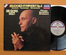 SXDL 7538 Bruckner Symphony no. 4 Romantic Sir Georg Solti 1981 NM/VG Digital