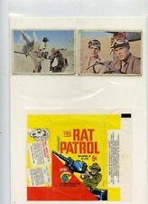 Rat Patrol  Bubble  gum  trading  WRAPPER with  type cards  Topps FREE SHIP