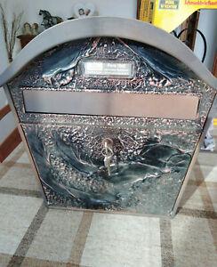 Briefkasten mit Einwurfschlitz mit der Farbe Kupfer - wie neu - und mit OVP!