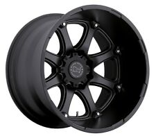 20x12 Black Rhino Glamis 8x165 ET-44 Matte Black Wheels (Set of 4)