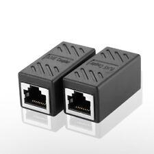 2PCS RJ45 Cat7/Cat6/Cat5e Coupler ethernet cable coupler LAN connector inline