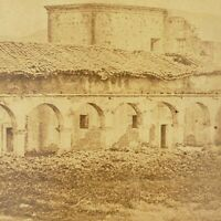 Ruins Mission San Juan Capistrano Stone Church Capistano California Stereoview