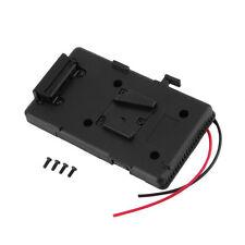 Battery Back Pack Plate Adapter Sony V-shoe V-Mount V-Lock Battery External G48