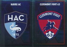 550 ECUSSONS CLERMONT FOOT HAVRE AC LIGUE 2  STICKER PANINI FOOT 2018