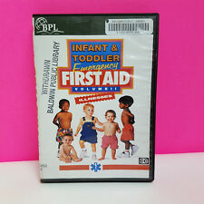 Infant and Toddler Emergency First Aid volume ii (2) DVD ExLibrary free shipping
