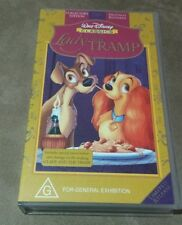 (NEW  & Sealed) Limited Edition Disney Classics VHS Lady and the Tramp & Tramp 2