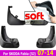 For SKODA FABIA II / Roomster 2 Mud Flaps Splash Guards Mudflaps Front Rear Set