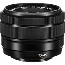 Fujifilm XC 15-45mm f/3.5-5.6 PZ black lens for Fuji X-T3 T30 T200 X-E3 Bulkpack