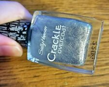 NEW! Sally Hansen CRACKLE OVERCOAT nail polish FRACTURED FOIL #03