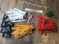 97 Pieces Of vintage scalextric bundle Of Accessories
