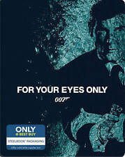 FOR YOUR EYES ONLY (Blu-ray, Includes Digital Copy Steelbook Only Best Buy) NEW
