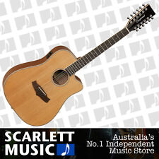 Tanglewood TW28/12CE 12-String Acoustic/Electric Guitar - w/5 Years Warranty.