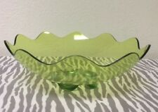 Tupperware Sheerly Acrylic Salad/Fruit Bowl Lime Green New