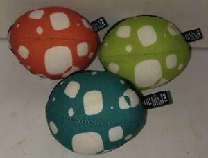 4Moms Mamaroo 3 Toy Balls Set Infant Baby Swing Rocker Replacement Green Orange