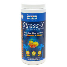 Trace Minerals Stress-X Magnesium Powder - Raspberry Lemon 8.5 oz