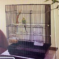"""NEW Petco Designer Square Top Parakeet Bird Habitat Cage 16.5"""" x 11.8"""" x 22"""" NIB"""
