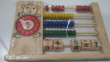 Abaco de madera para niños juguete educativo