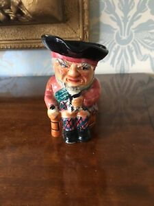 SHORTER AND SON SCOTTIE TOBY/CHARACTER JUG S/S